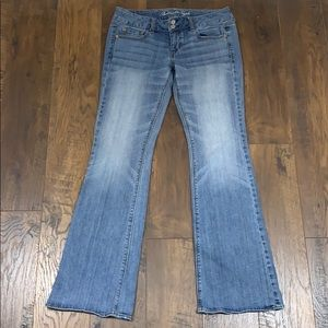 American Eagle Artist Stretch flared jeans